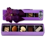 Premium Belgium Truffles Purple Box - 5 PC Box