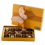 Premium Belgium Truffles Orange Box - 15 PC Box