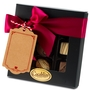Premium Belgium Truffles Square Black Box - 9 PC Box