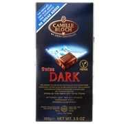 Swiss Dark Bittersweet Chocolate Bar - No Sugar Added