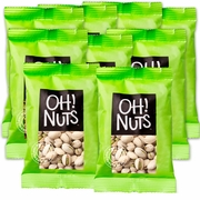Roasted Salted Pistachios Snack Packs - 12PK