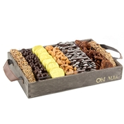 Wooden Pretzels & Nuts Line Up - Large