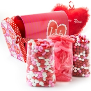 Valentines Day Heart Mail Box Gift Basket