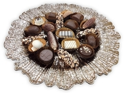 Round Plate With Belgum Dairy Chocolates
