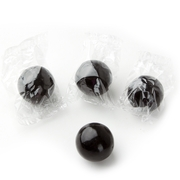 Wrapped Black Gumballs