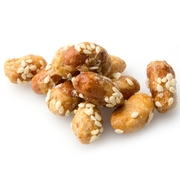 Sesame Honey Glazed Peanuts