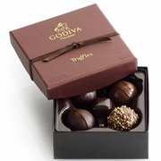 Signature Chocolate Truffles Gift Box - 4 Pc.