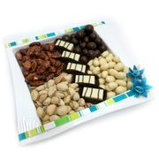 Nuts and Chocolates Ceramic Plate