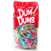 Rainbow Dum Dums Pops - 75CT