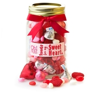 Valentines Day Sweets for my Sweetheart Mason Jar