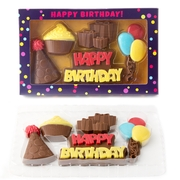 Fun Happy Birthday Chocolate Gift Box