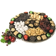 13-Inch Holiday Lucite Gift Tray