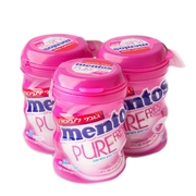 Mentos Pure Fresh Sugar Free Strawberry Gum - Mint 6CT