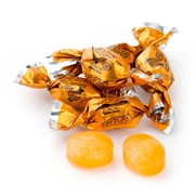 Zaza Mini Orange Foil Hard Candy - Orange