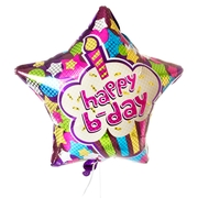 Star Happy Birthday Balloon