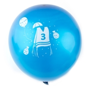 Bar Mitzvah Blue Balloons - 10CT