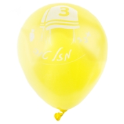 Bar Mitzvah Yellow Balloons - 10CT