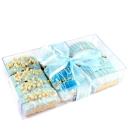 Baby Boy Chocolate Biscotti Gift Box