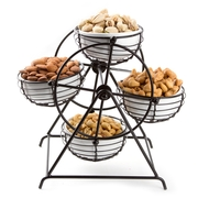 Carousel Snack Nuts Wheel