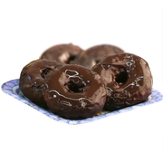 Chocolate Dipped Hanukkah Donuts - 6CT