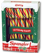Colorful Cherry Candy Canes