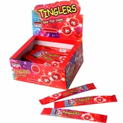 Tinglers Cherry Sour Fizz Chews - 48CT