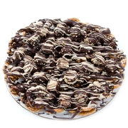 Chocolate Pretzel Pie With Halva Squares - 14