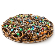 Chocolate Pretzel Pie W/Rainbow Lentils - 14