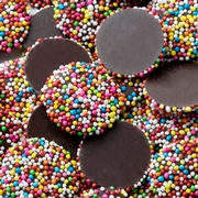 Wholesale Rainbow Chocolate Nonpareils - 10 LB Case