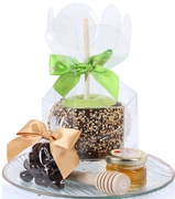 Chocolate Dipped Apple Gift Tray