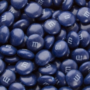 Dark Blue M&M's Chocolate Candies