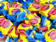 Dubble Bubble Classic Bubble Gum - Unwrapped