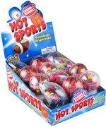 Hot Sports Gumball Dispensers - 12CT Case