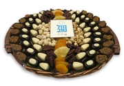 Extra Large Mazal Tov Chocolate Basket - Israel Only