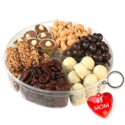 Mothers Day Premium Chocolate Kosher Gift Tray -6 Section