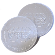 Dark Chocolate Silver Coins