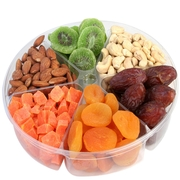 6-Section Dried Fruit & Nut Tray
