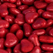 Red Cinnamon Hearts Candy
