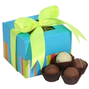 5-Pc Milk Chocolate Truffle Gift Box - Colorful