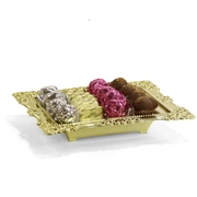 Gold Chocolate Tray - Israel Only