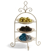 3 Tier Chocolate Nut Tray - Israel Only