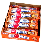 Orange AirHeads Taffy Candy Bars - 36CT Case