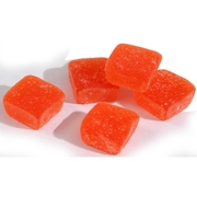 Premium Orange Jelly Squares