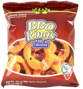 Barbecue Flavored Rings - 6-Pack
