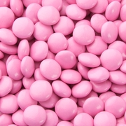 Pink Chocolate Lentils Gems