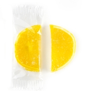 Wrapped Lemon Jelly Fruit Slices
