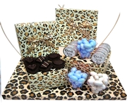 Baby Boy Leopard Gift Box Arrangement