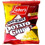Barbecue Potato Chips - 72PK