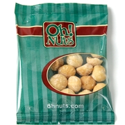 Roasted Salted Macadamia Nuts Snack Packs - 12PK