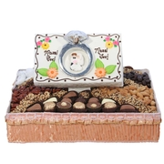 Medium Mazel Tov Ring Basket